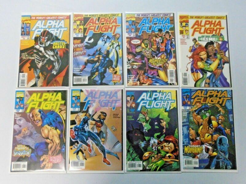 Alpha Flight run:#2-16  2nd series average 8.5 (1997)