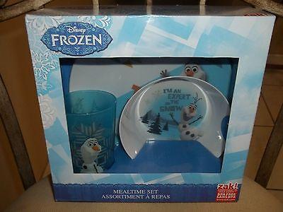 NEW!!! Disney Frozen Olaf 3 PC Mealtime ...