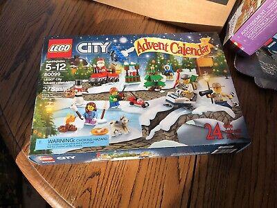 LEGO City Advent Calendar (60099) - New Sealed in Box - Rare Retired Non-Smoking