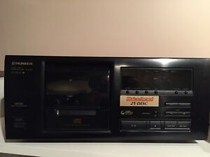 Pioneer 25 disc player