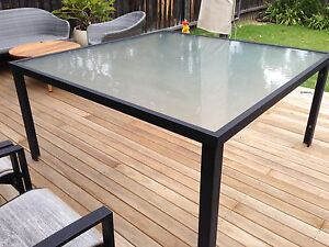 Large Outdoor Square Dining Table Mosman Mosman Area Preview