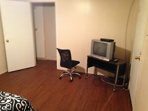 Lockable furnished room for rent available August 1st