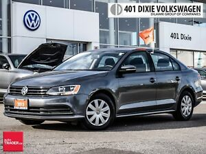 2015 Volkswagen Jetta Trendline Plus 2.0 6sp w/Tip OFF Lease. NO