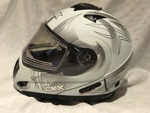CKX trans-rsv blast snowmobile helmet with electric shield