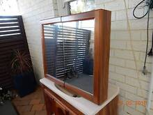 Bathroom Vanity Cabinet and Mirrored Shaving Cabinet Elanora Heights Pittwater Area Preview