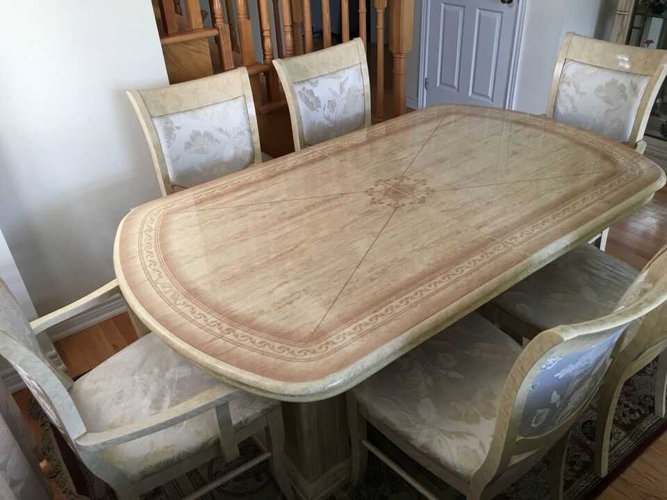 Italian dining table with chairs tables sets