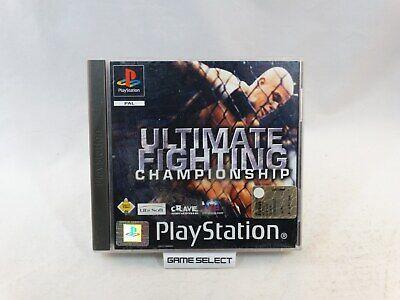 Usado, ULTIMATE FIGHTING CHAMPIONSHIP UFC PS1 PS2 PS3 PLAYSTATION PAL ITALIANO COMPLETO comprar usado  Enviando para Brazil