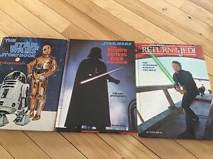 Vintage Star Wars photograph booka