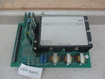 Aeg Gettys Dc Servo Controller Drive 240v 60a 815321c Used