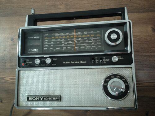 SONY 6band Super Sensitive Radio Model No TFM-8000W, Excellent.