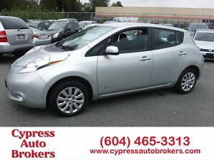 2016 Nissan Leaf S (Brand New Tires)