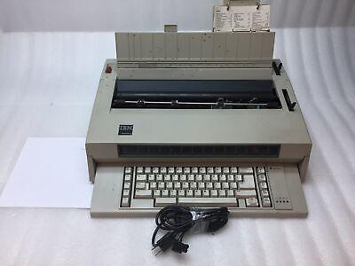 Vintage Ibm 0538090 Wheelwriter 3 674x Tested Working With Original Manual