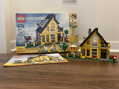 LEGO Creator 4996 Beach House with Instructions & Box 100% Complete