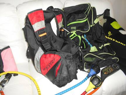 SCUBA DIVING GEAR PACKAGE BARGAIN ONLY $300