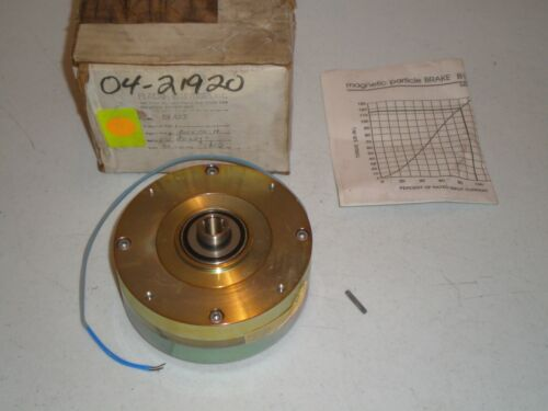 New! Placid Industries B115-90-H Magnetic Particle Brake Free Ship!