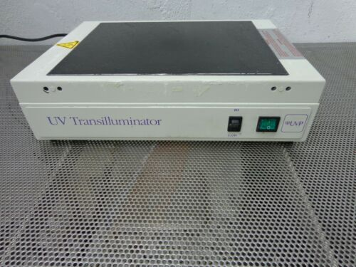 UVP Entela Fluorescence Imaging UV Transilluminator M-26 95-0222-01 (NEED LAMPS)