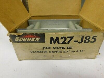 NOS Sunnen Honing Stones L12-A65 Aluminum Oxide 280 Grit