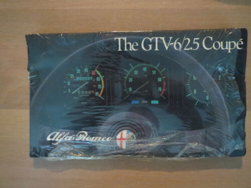 Alfa Romeo GTV-6/2.5 Coupe 1984 Brochures New old Stock Bulk 25 count.