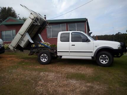 2005 Ford Courier super cab 4x4 cab chassis Somerset Waratah Area Preview