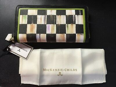 MACKENZIE-CHILDS COURTLY CHECK WALLET [RETIRED]