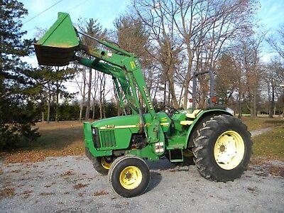 John Deere 5410 Tractor 521 Loader