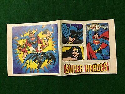 VTG Post Alpha Bits ***SUPER HEROES STICKER*** cereal premium prize toy