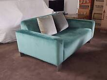 TWO-SEATER VELVET SOFA Victor Harbor Victor Harbor Area Preview