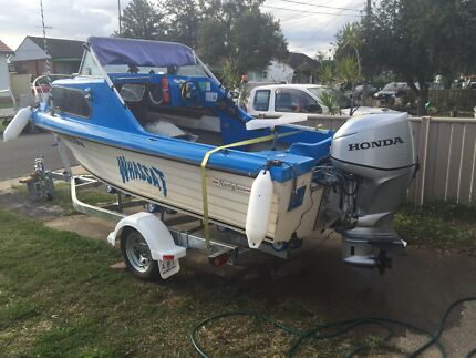 Ranabout 4.5 m boat Fairfield Fairfield Area Preview
