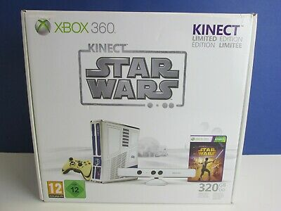 NEW sealed box STAR WARS XBOX 360 s KINECT VIDEO GAMES CONSOLE limited edition