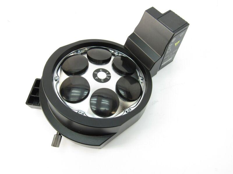 Olympus U-D6BDREMC Sextuple BD Revolving Microscope Objective Turret