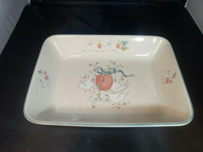 "International China Marmalade Rectangle Baking Dish 13"" x 9.75"""