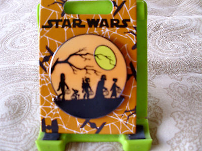 Disney * HALLOWEEN * Star Wars Characters Trick or Treating * New on Card Pin