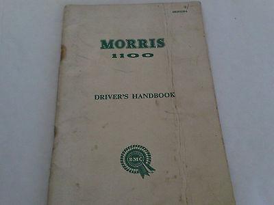 Morris 1100 Owners Drivers Handbook Instruction Manual AKD 3229A