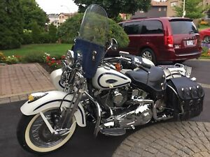Harley Davidson custom Softail (text/email)