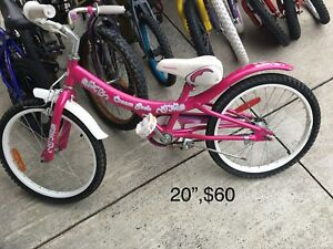 Kids multiple sizes bicycles,tricycle and more