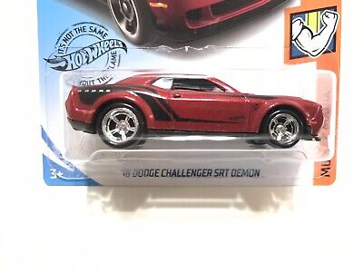 2019 K Case Hot Wheels '18 Dodge Challenger SRT Demon w/Real Riders SUPER CUSTOM](Custom Hot Wheels)