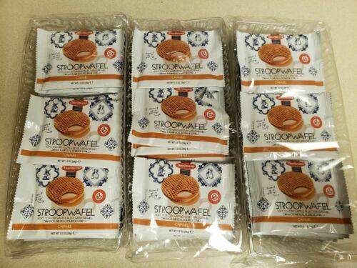72 DAELMANS Stroopwafels, Dutch Waffles Soft Toasted, Caramel, Kosher Dairy