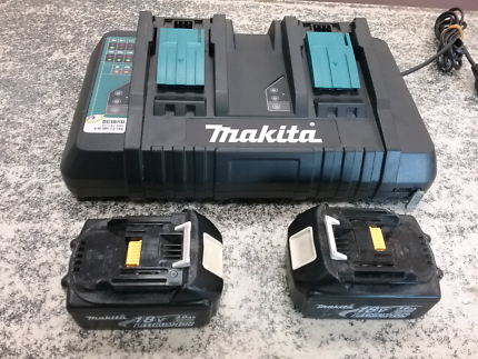 Makita Charger and 2 x Battery Included #113146