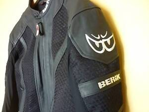 Berik Air Mesh & Leather Jacket OUTSTANDING CONDITION -  NEW Kensington Eastern Suburbs Preview