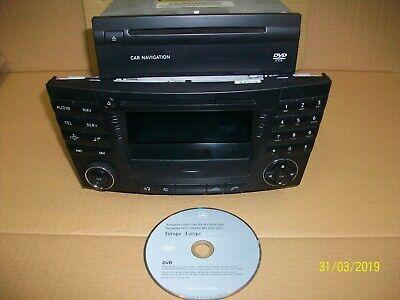 Mercedes E Klasse W211 S211 Navi CD set  A2118202097 Be 7036 MID Headunit