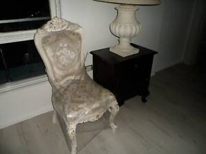 6 X New Dining Chairs in Antique Provincial Style, RRP $2394