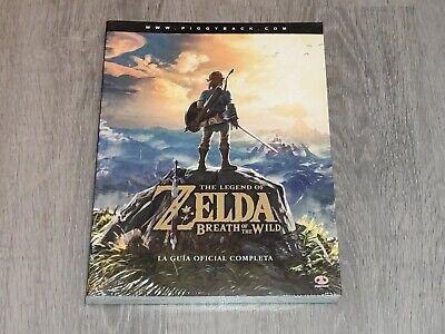 Guía Zelda: Breath of the Wild Switch Español Oficial Completa Nintendo Guide