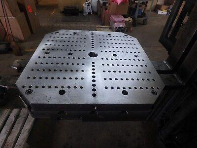 Mazak Horizontal Machining Center H-630n H630pallet Onlydrilled Tapped Top