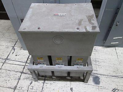 Fpecornell Dubilier Capacitor Icc3060d33 60 Kvar 240v 3ph Used