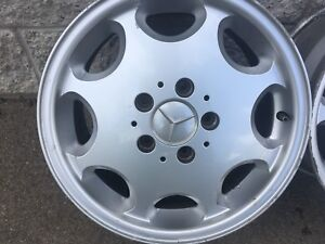 Mercedes Benz Alloy Rims 15 inch nice set
