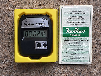 Hanhart LCD-Stoppuhr Timophil