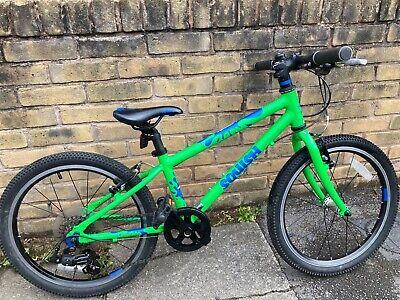 squish bike 20 green