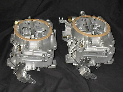 1961 1962 Pontiac 2x4 Super Duty 421 Carter AFB Clone Carburetors Show Restored
