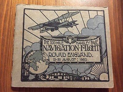 Original-Luftaufnahmen England Flug 1920 Handley Page Bomber RAF Aerial Pictures