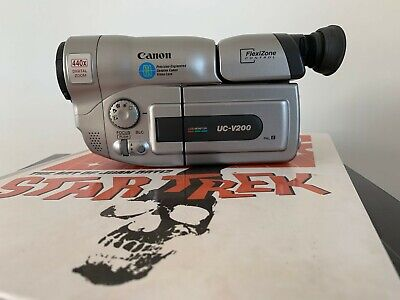 CANON UC-V200 ANALOGUE CAMCORDER (8mm Video 8 Playback)
